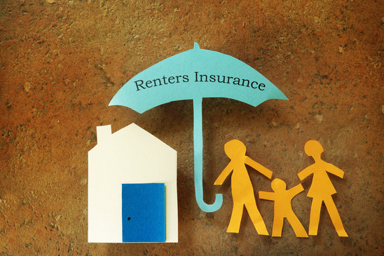 Paper-cutout-family-with-house-under-Renters-Insurance-umbrella